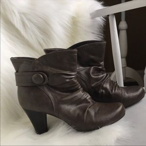Madden Girl heeled ankle boots